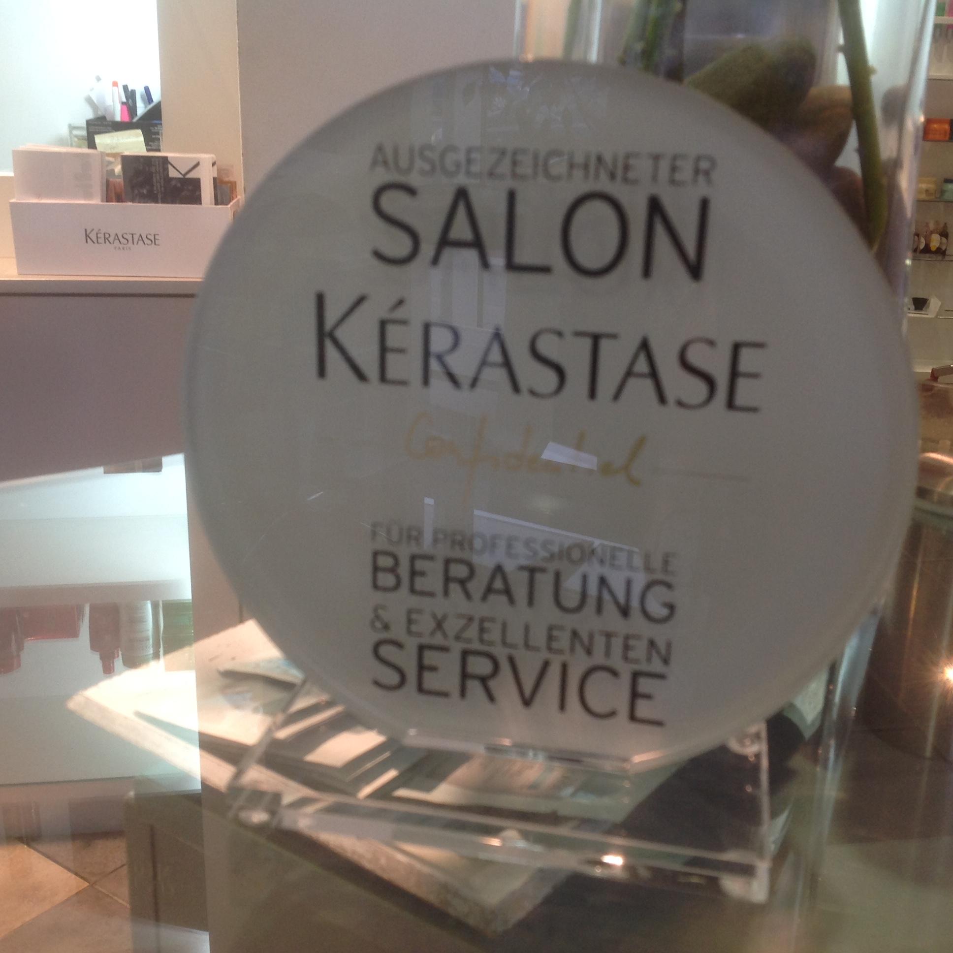 Auszeichnung Kérastase Confidential Wir sagen Danke
